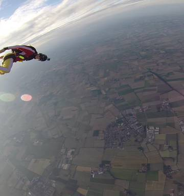 Police thought a skydiver died in an accident - until they