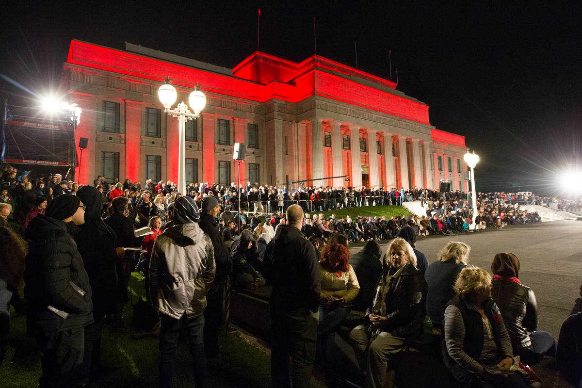 Kiwi troops not designed for Anzac Day crowd control, police say they have the resources
