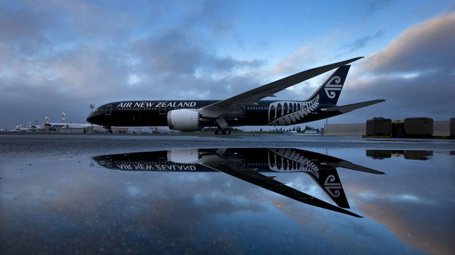 Air NZ's damaged 787 engine