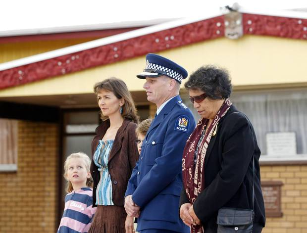 A powhiri welcome for Mike Clement and his family after they moved to Tauranga for his new position in 2007. Photo / NZME