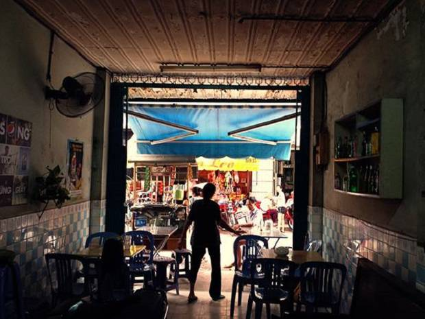 Cafe Cheo Leo, the oldest cafe in Ho Chi Minh City.