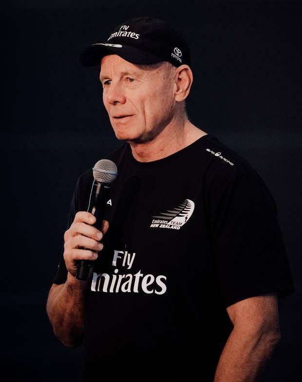 Emirates Team New Zealand CEO Grant Dalton. Photo / Supplied.