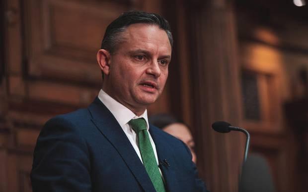 Green Party co-leader James Shaw. Photo / RNZ - Samuel Rillstone