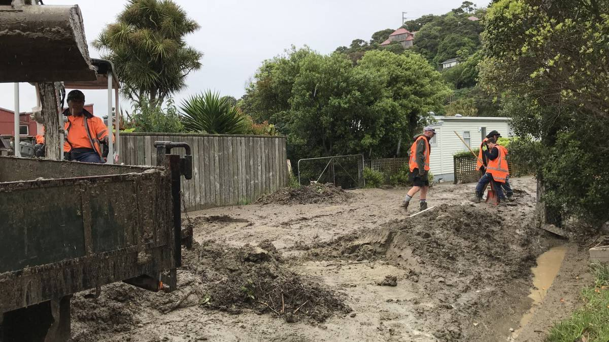 Plimmerton flooding: Resident says cleanup could take months - NZ Herald