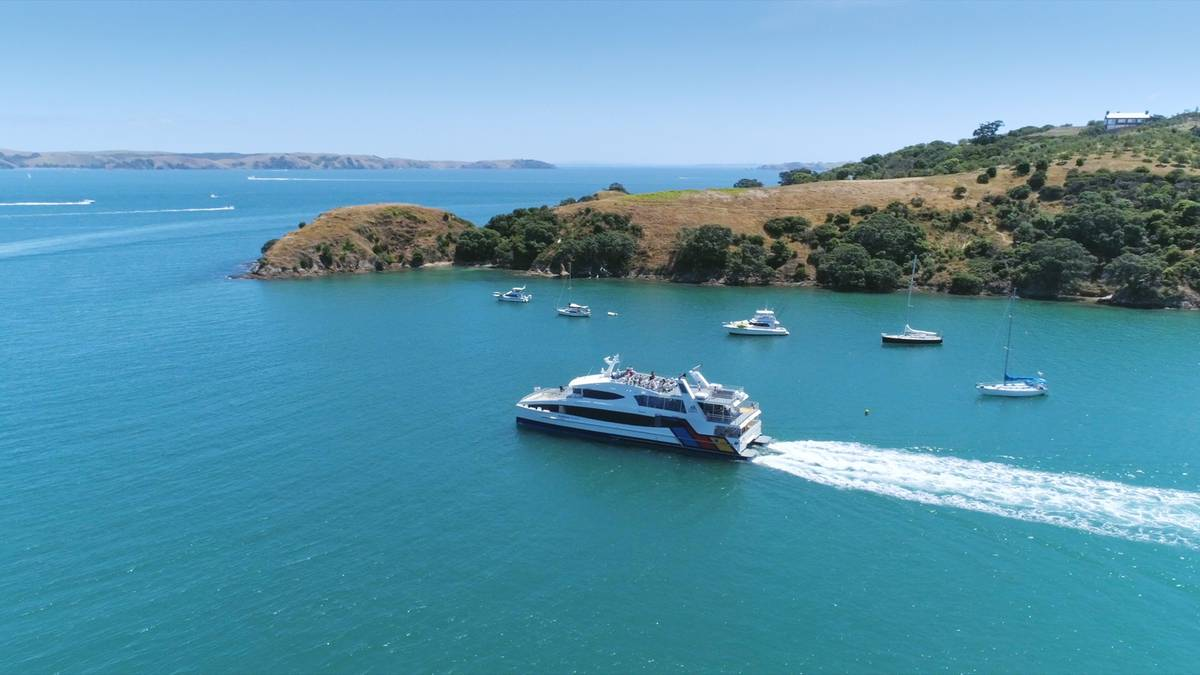 Hauraki ferry routes reconnect islands for busy Auckland summer - NZ Herald